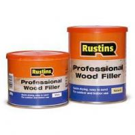 Rustins Professional Wood Filler 250g - White